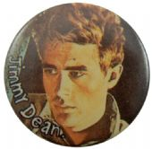 James Dean - 'James Side Stare' Button Badge